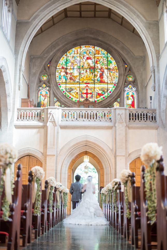 イタリア フィレンツェ セントジェームス教会 結婚式